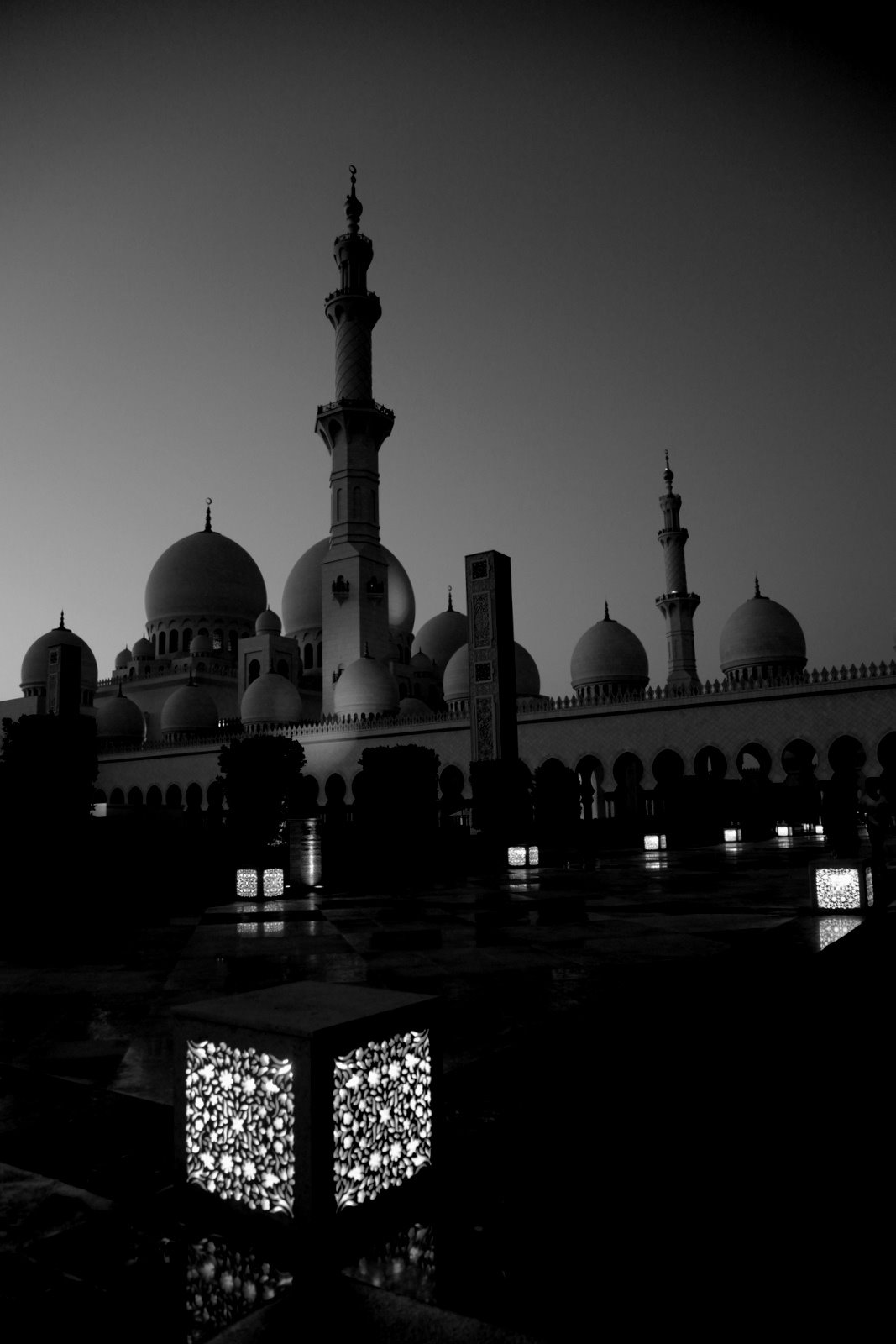 Sheikh Zayed Grand Mosque -Abu Dhabi